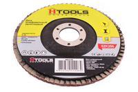 Круг лепестковый торцевой Housetools - 125 мм, Р120 прямой