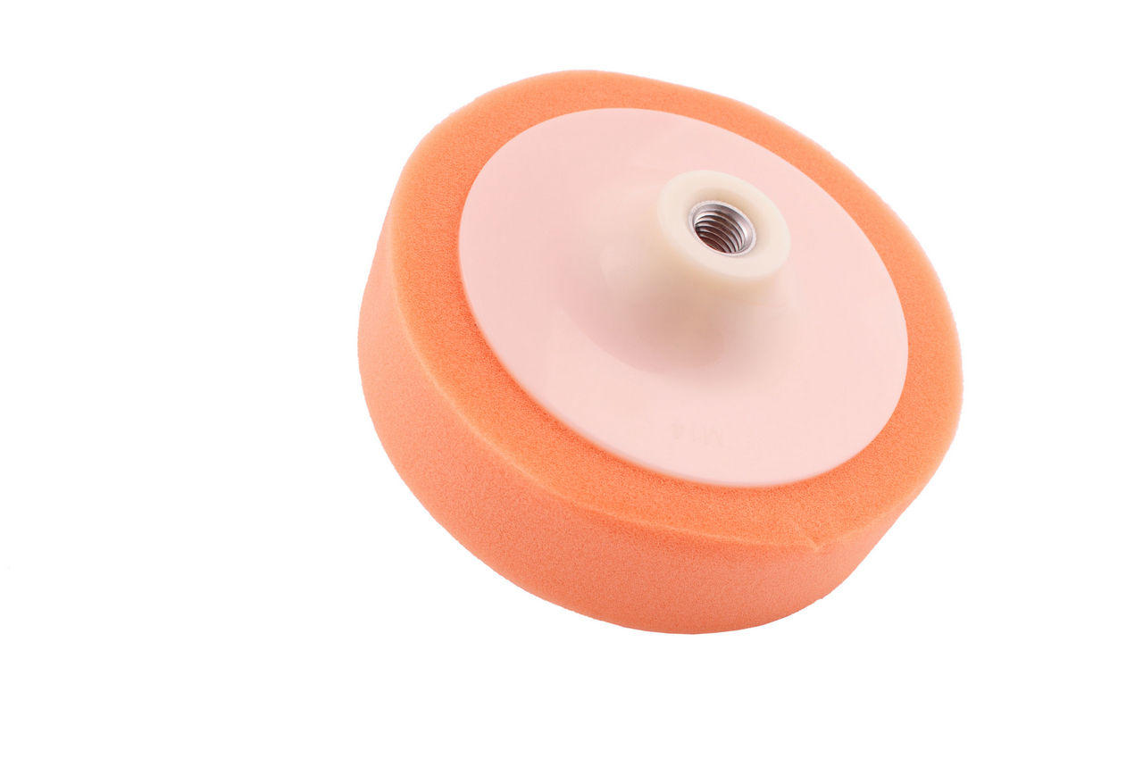 Круг полировальный поролоновый Pilim - 150 мм оранжевый 1