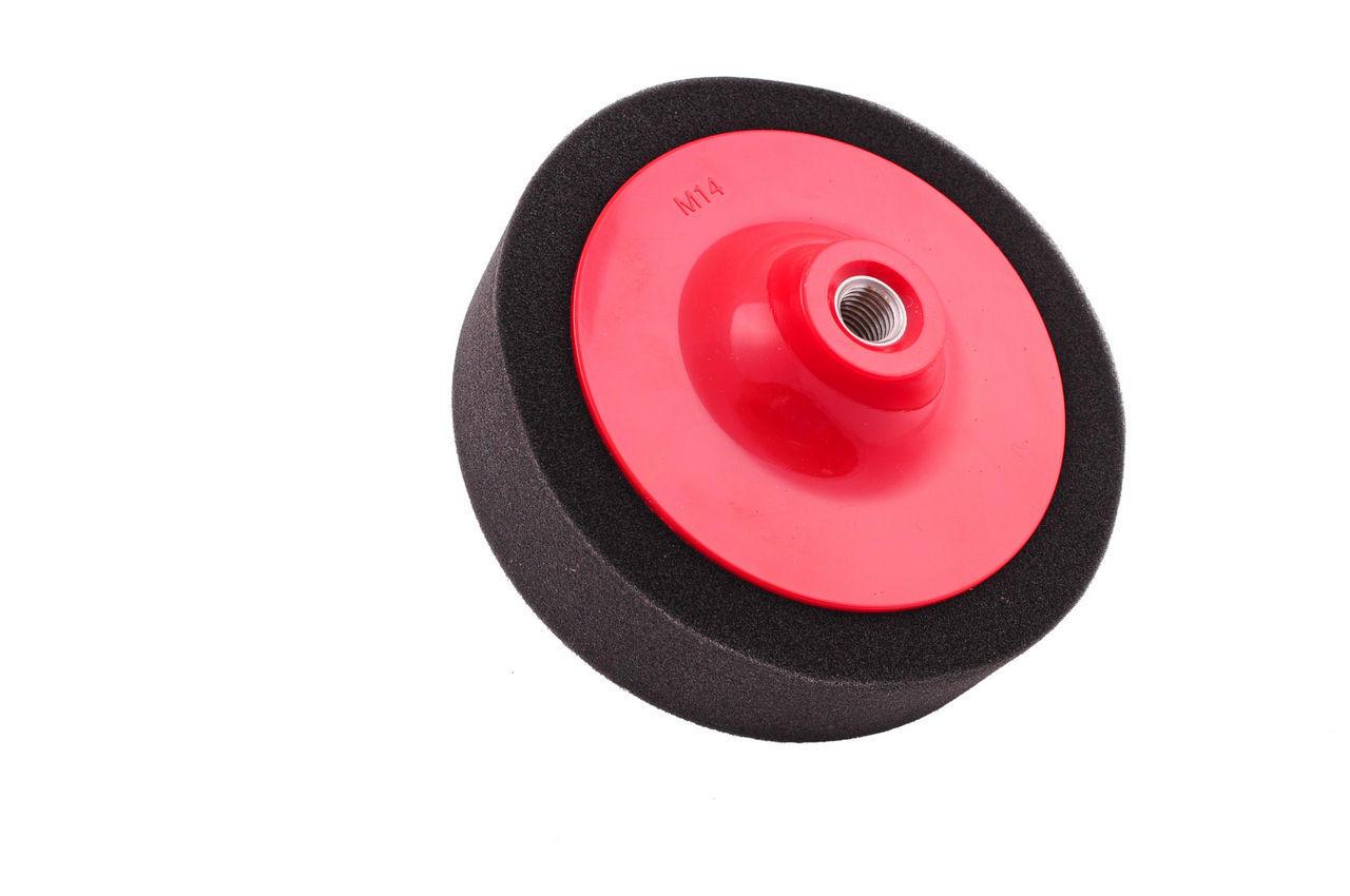 Круг полировальный поролоновый Pilim - 150 мм чёрный 1