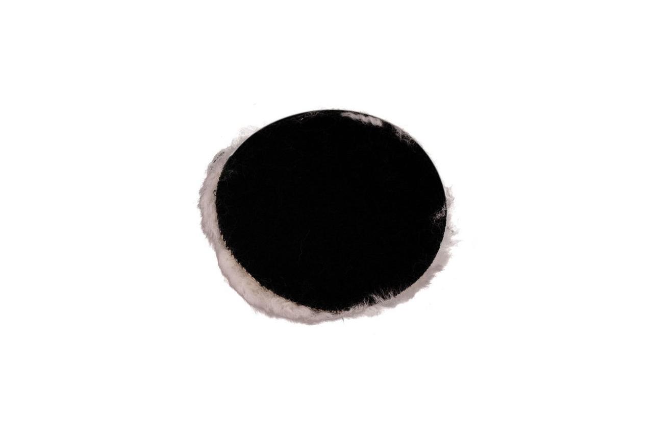 Круг полировальный овчина Pilim - d=125 мм на липучке 2