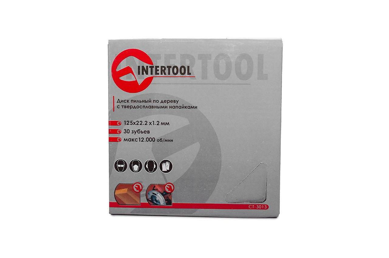 Диск пильный Intertool - 125 х 22,2 мм x 30T 4