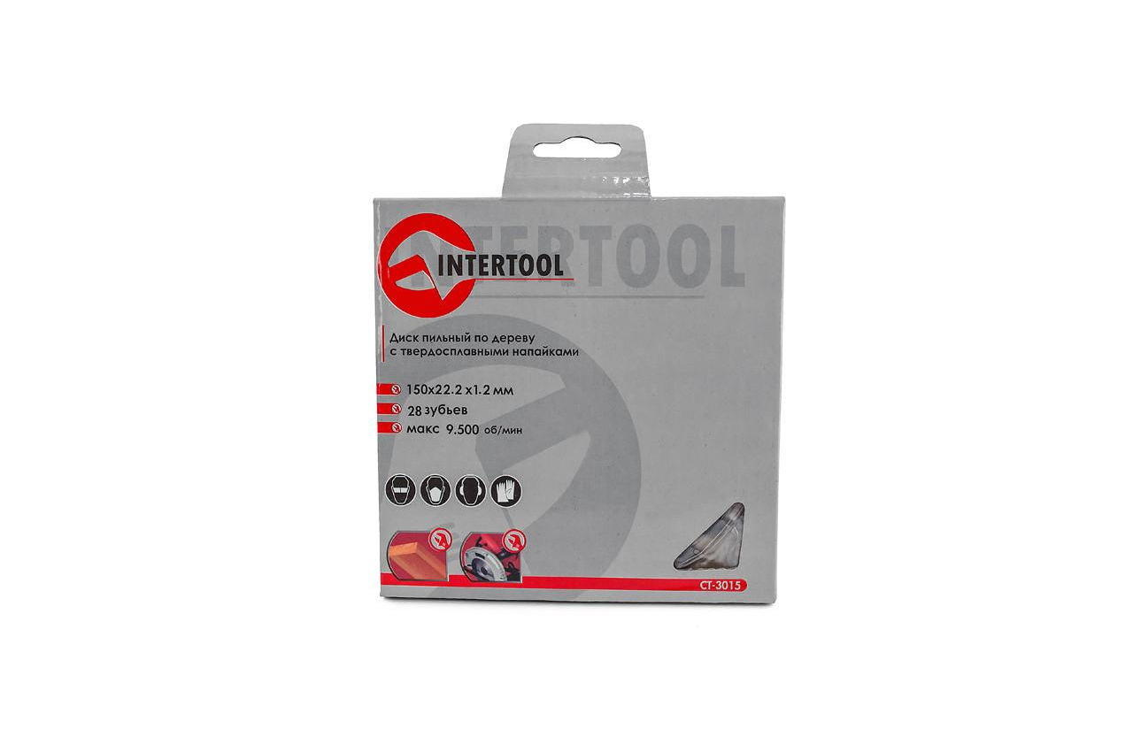 Диск пильный Intertool - 150 х 27T х 22,2 мм 4