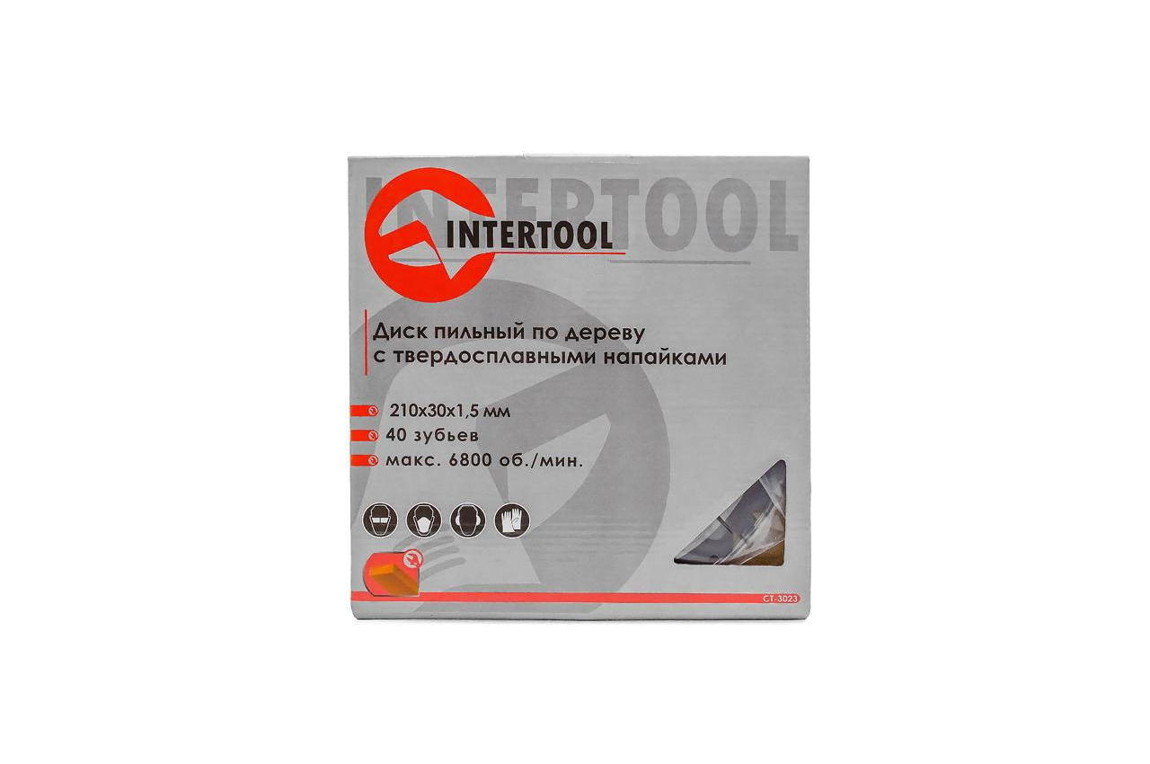 Диск пильный Intertool - 210 х 40T х 30 мм zoom 4