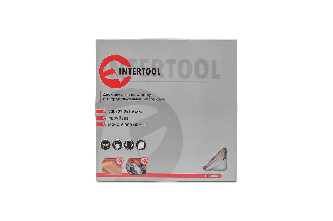 Диск пильный Intertool - 230 х 40T х 22,2 мм 4