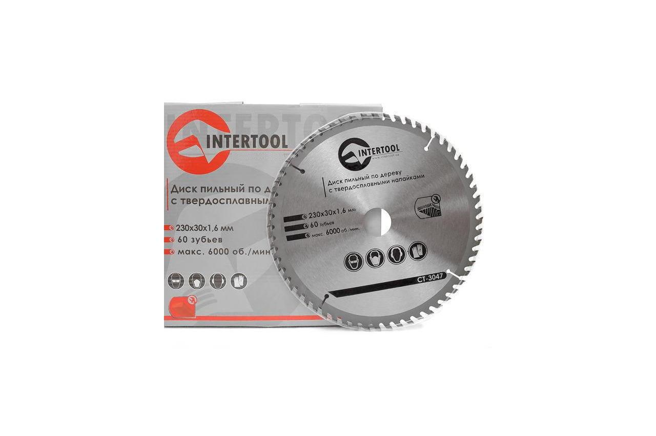 Диск пильный Intertool - 230 х 60T х 30 мм 3