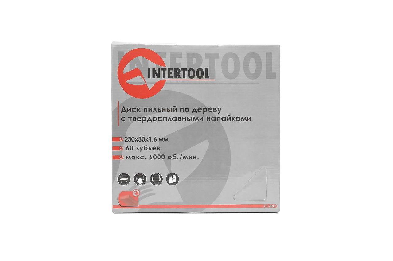 Диск пильный Intertool - 230 х 60T х 30 мм 5