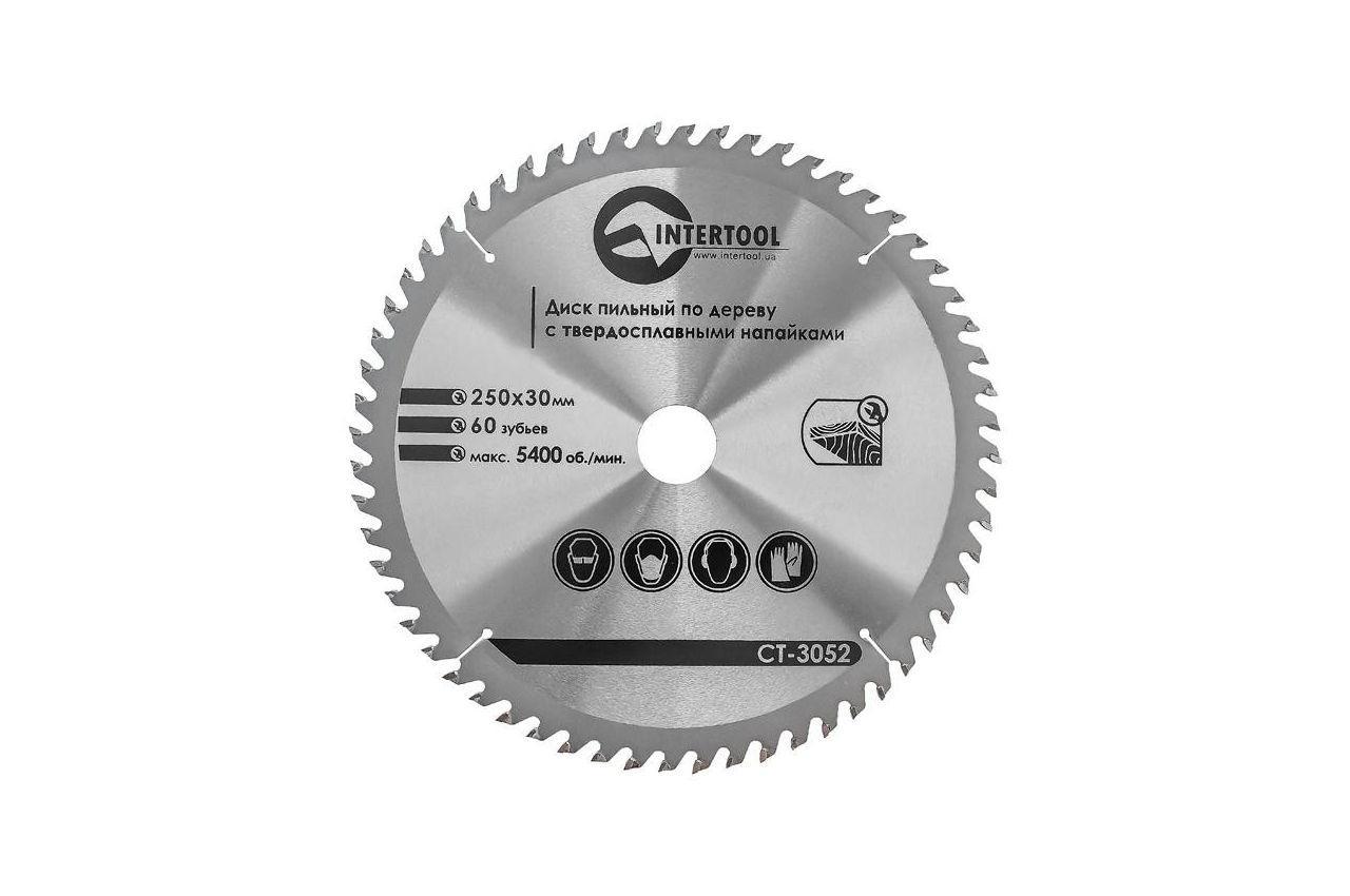 Диск пильный Intertool - 250 х 60T х 30 мм 1