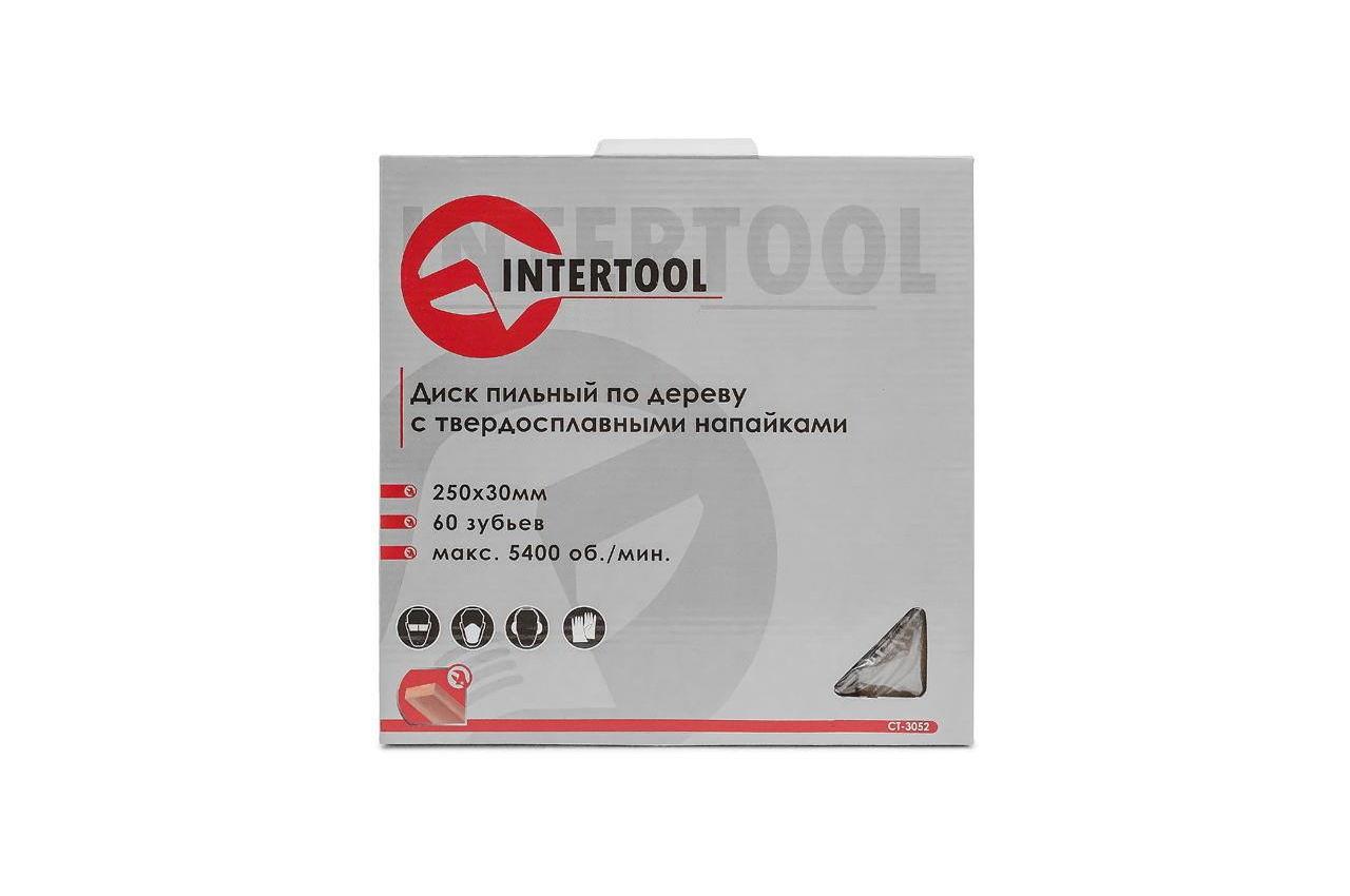 Диск пильный Intertool - 250 х 60T х 30 мм 4