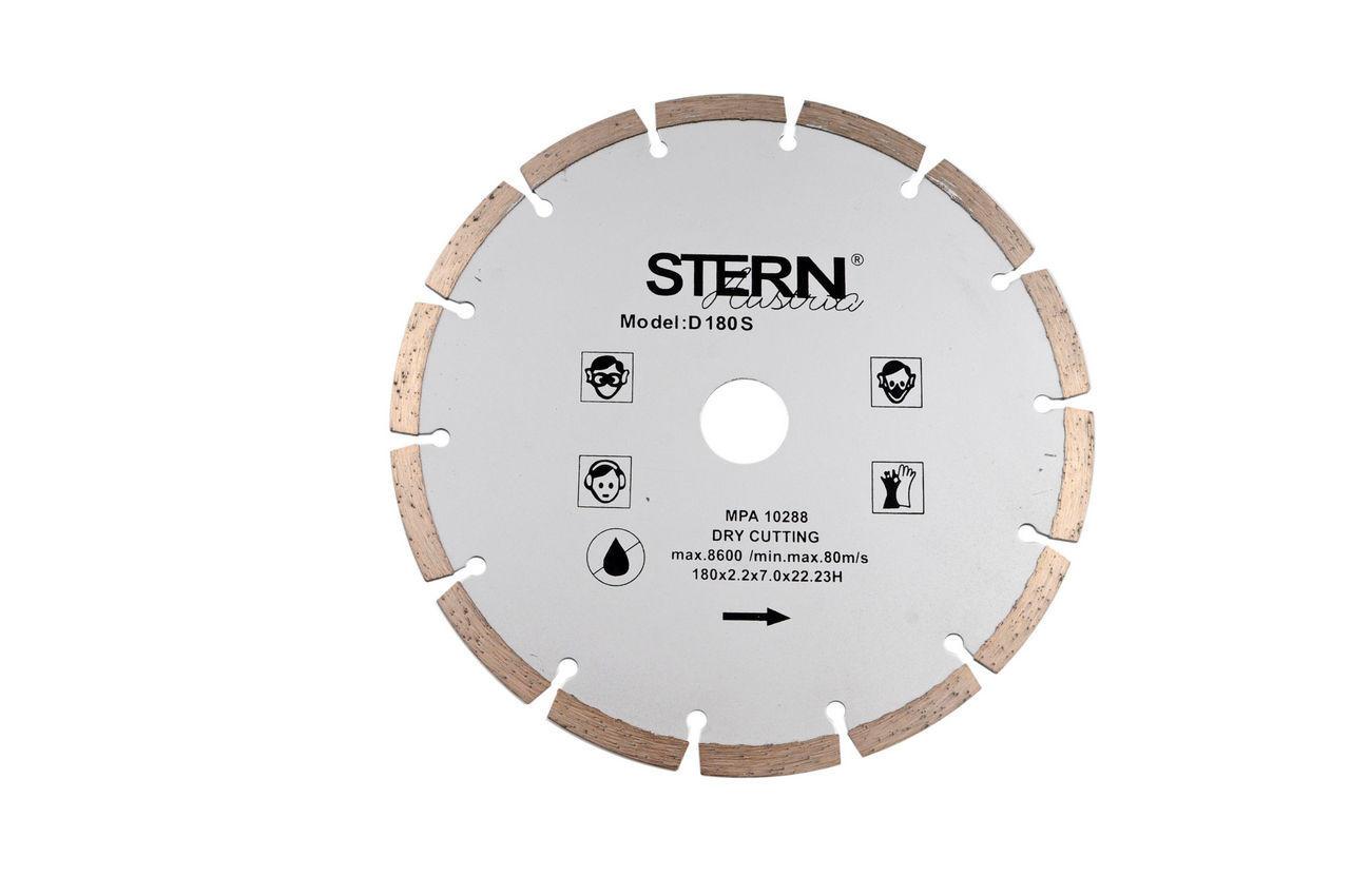 Диск алмазный Stern - 180 мм сегмент 1