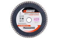 Диск алмазный Granite - 180 мм, турбоволна