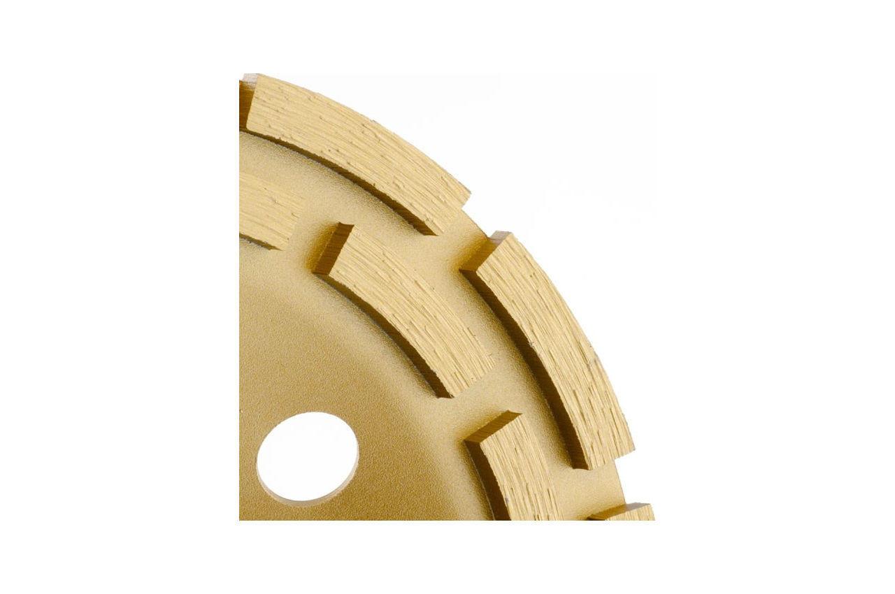 Диск алмазный для шлифовки бетона Intertool - 180 мм сегмент 4