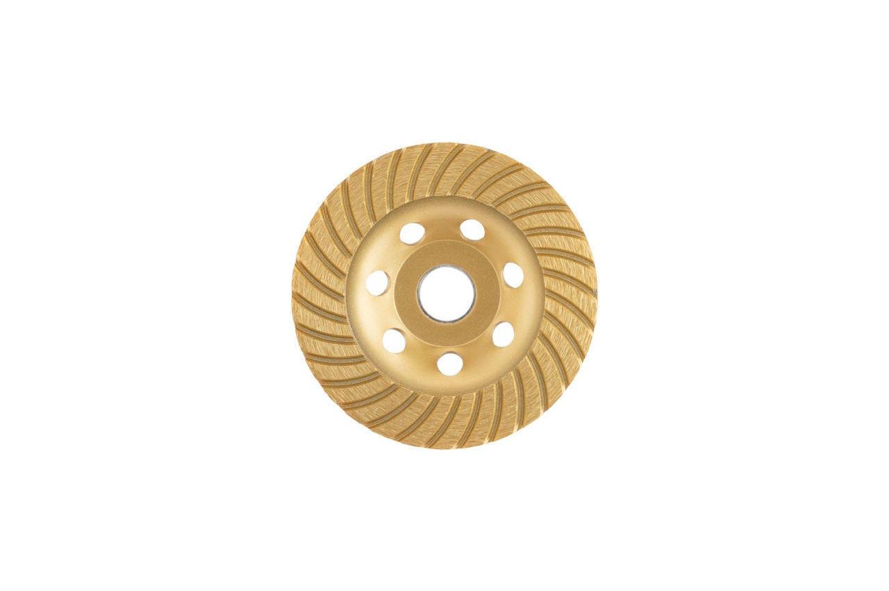 Диск алмазный для шлифовки бетона Intertool - 115 мм турбоволна 1