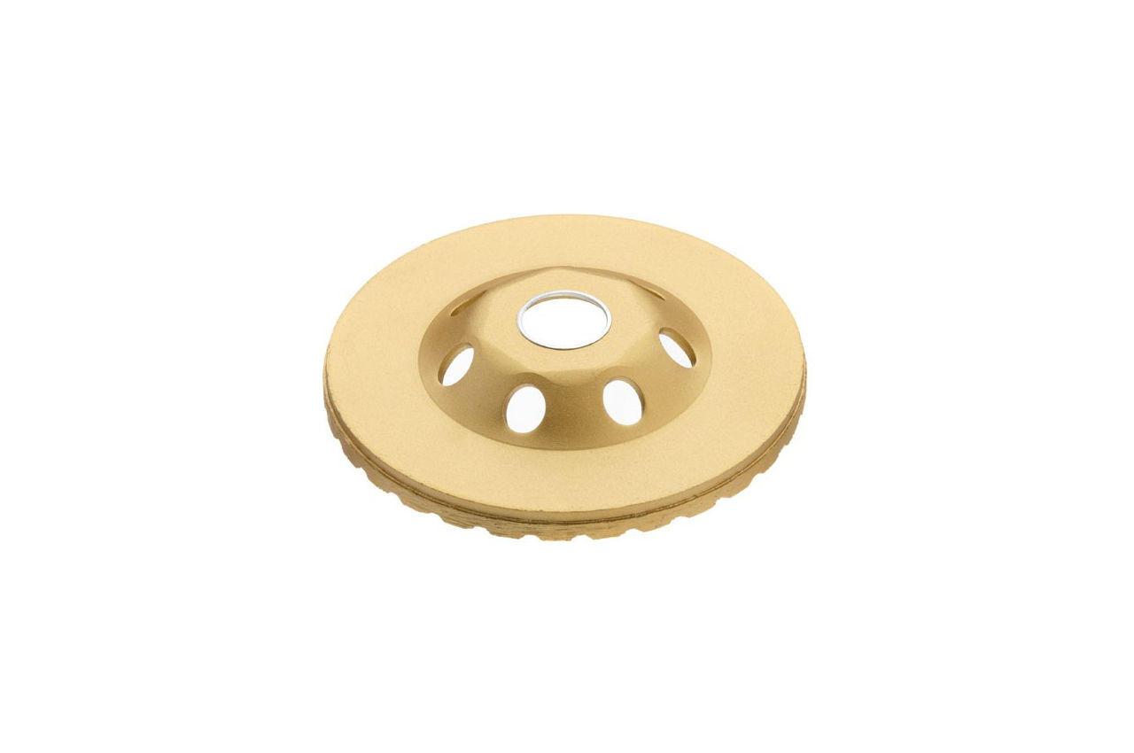 Диск алмазный для шлифовки бетона Intertool - 115 мм турбоволна 3