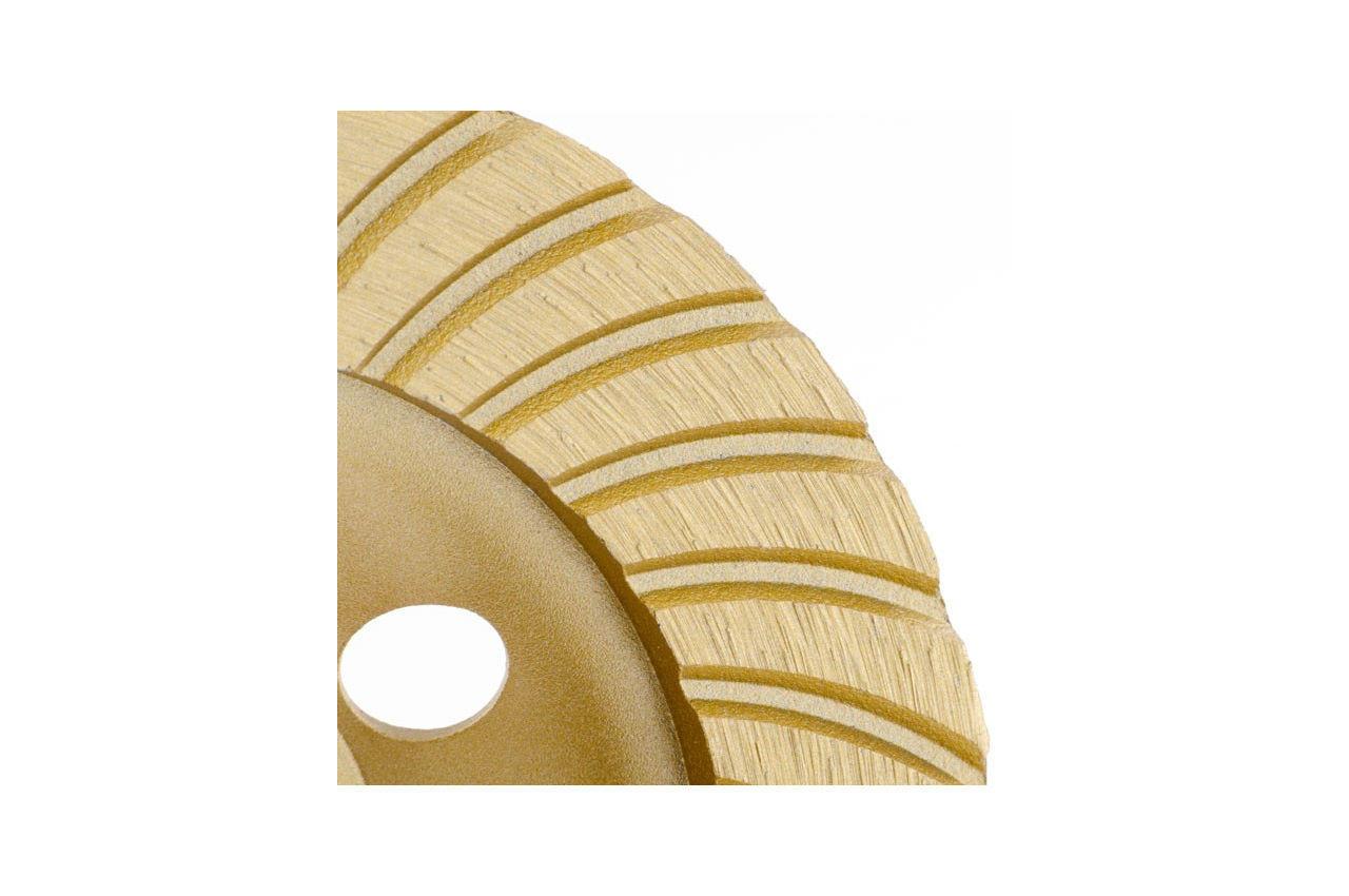 Диск алмазный для шлифовки бетона Intertool - 115 мм турбоволна 4