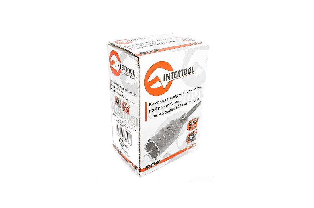 Сверло корончатое по бетону SDS+ Intertool - 50 мм 7