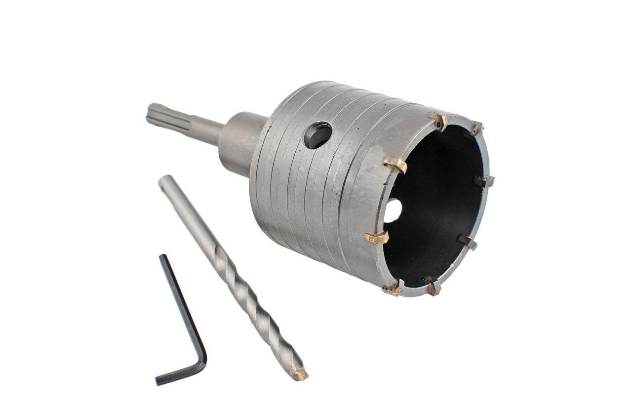 Сверло корончатое по бетону SDS+ Intertool - 55 мм 1