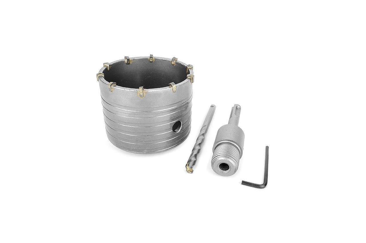 Сверло корончатое по бетону SDS+ Intertool - 80 мм 4