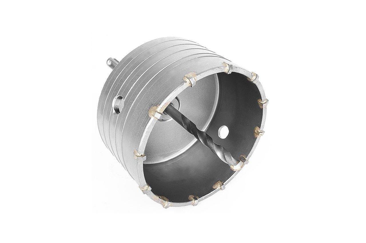 Сверло корончатое по бетону SDS+ Intertool - 105 мм 1