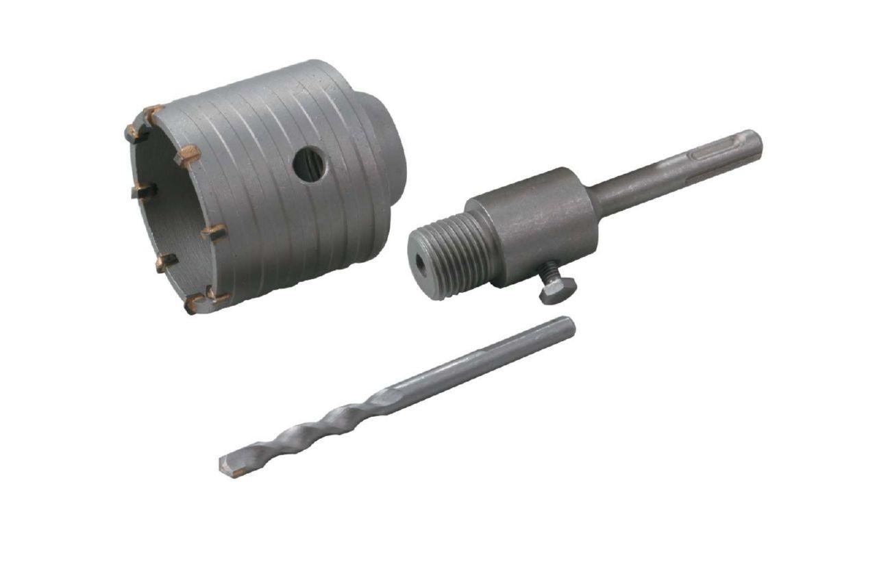 Сверло корончатое по бетону Granite - 65 мм с переходником SDS+ 1