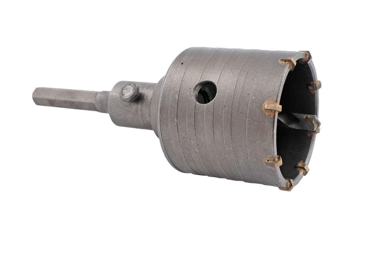 Сверло корончатое по бетону шестигранник Falc - 80 мм 1