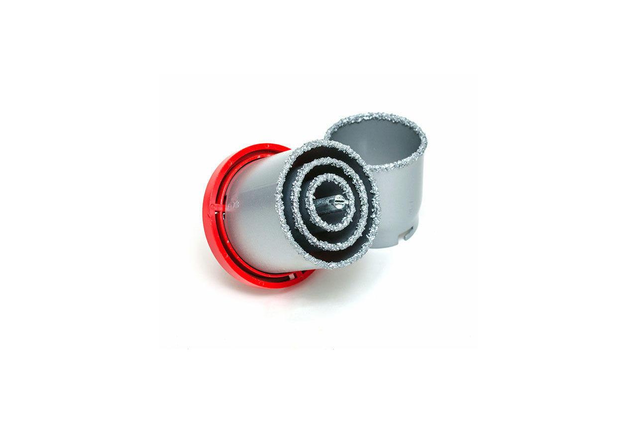 Набор корончатых сверл по плитке Intertool - 4 шт. (33, 53, 67, 73 мм) 5