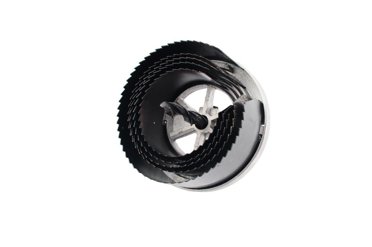 Набор корончатых сверл по гипсокартону Intertool - 5 шт. (60-95 х 20 мм) 1