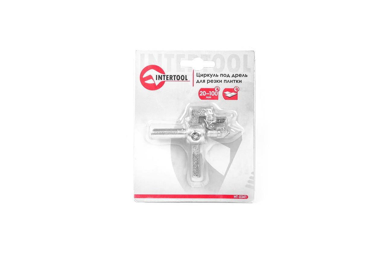 Циркуль для резки плитки Intertool - 20-100 мм 2