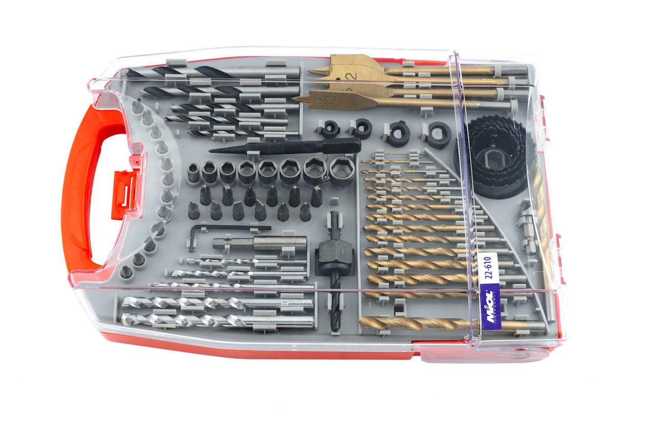 Набор сверл и бит Miol - 76 ед. 1