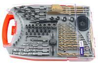 Набор сверл и бит Miol - 76 ед.