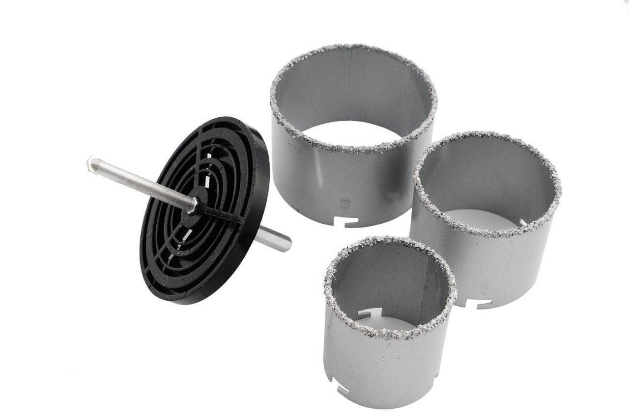 Набор корончатых сверл по плитке Miol - 3 шт. (67, 83, 103 мм) 1
