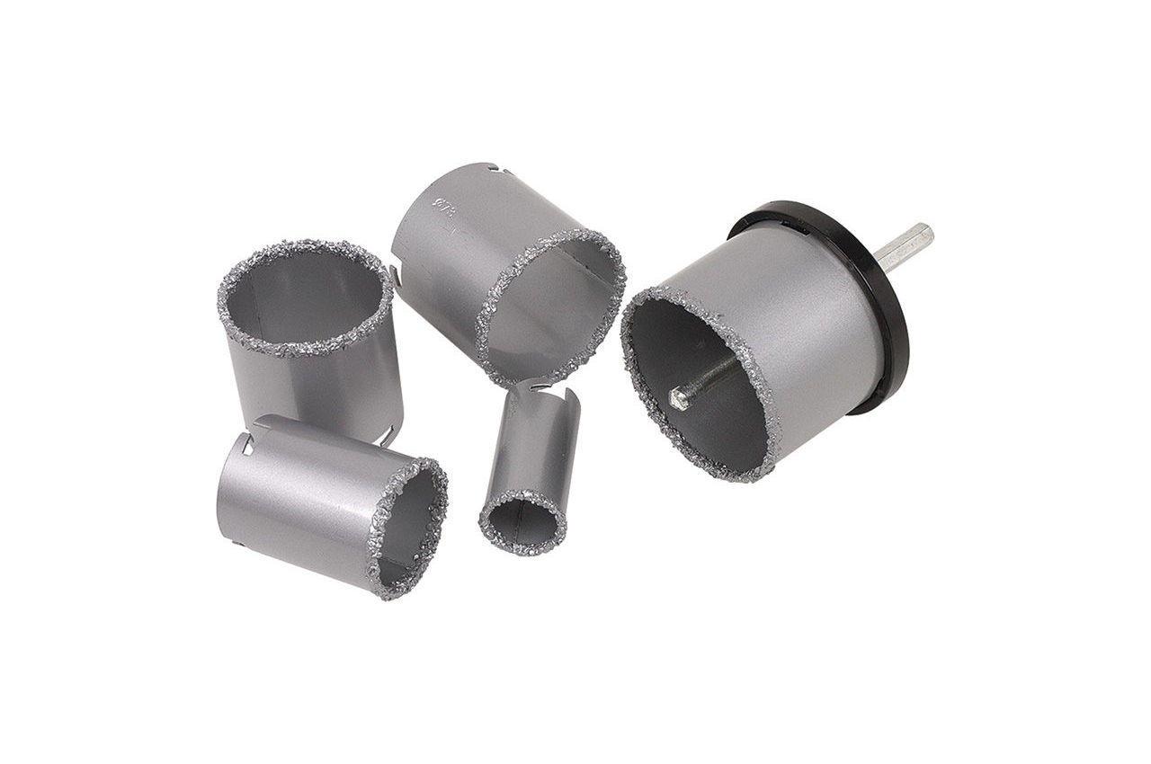 Набор корончатых сверл по плитке Miol - 3 шт. (67, 83, 103 мм) 2