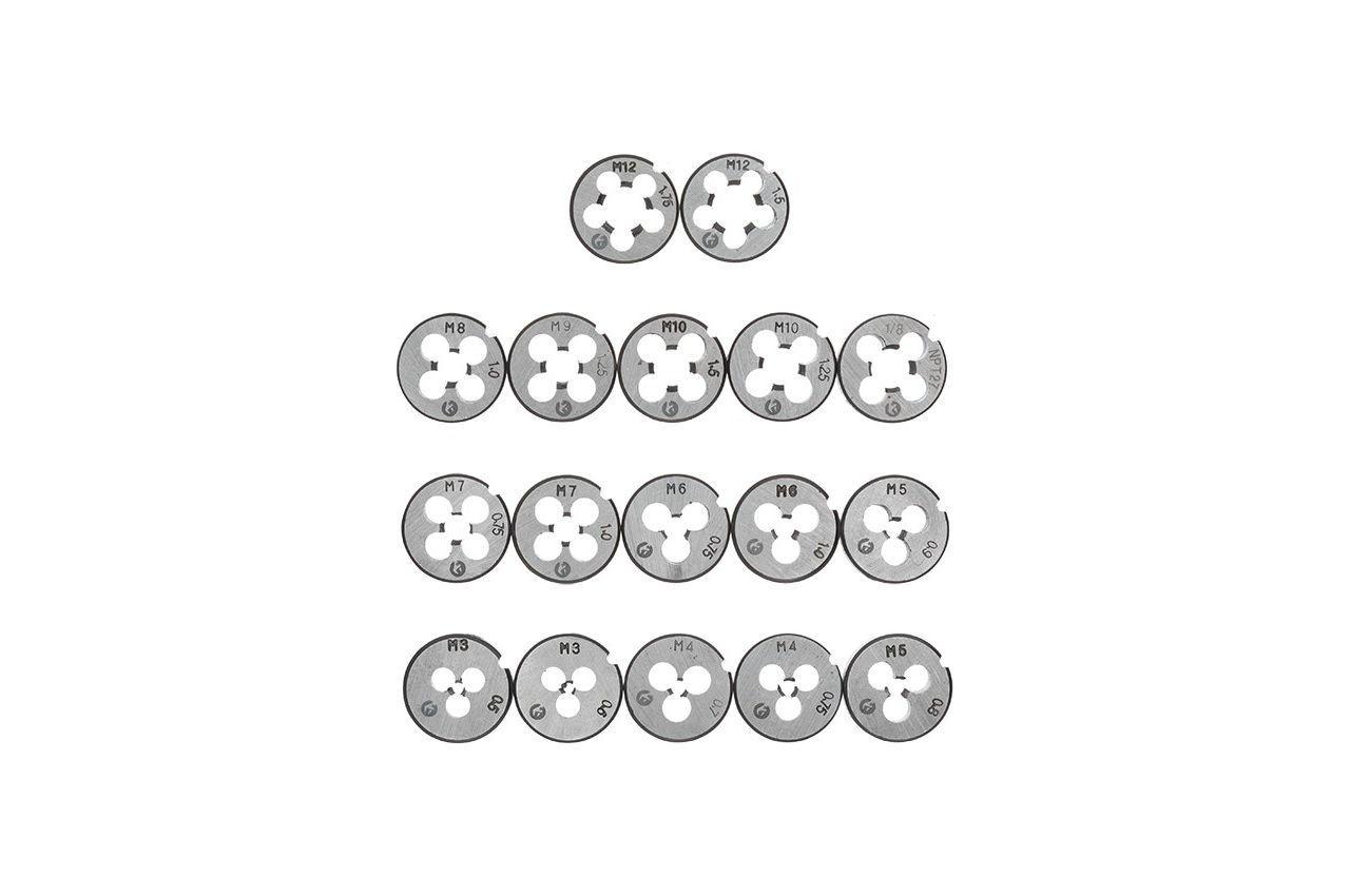 Набор метчиков и плашек Intertool - 40 ед 2
