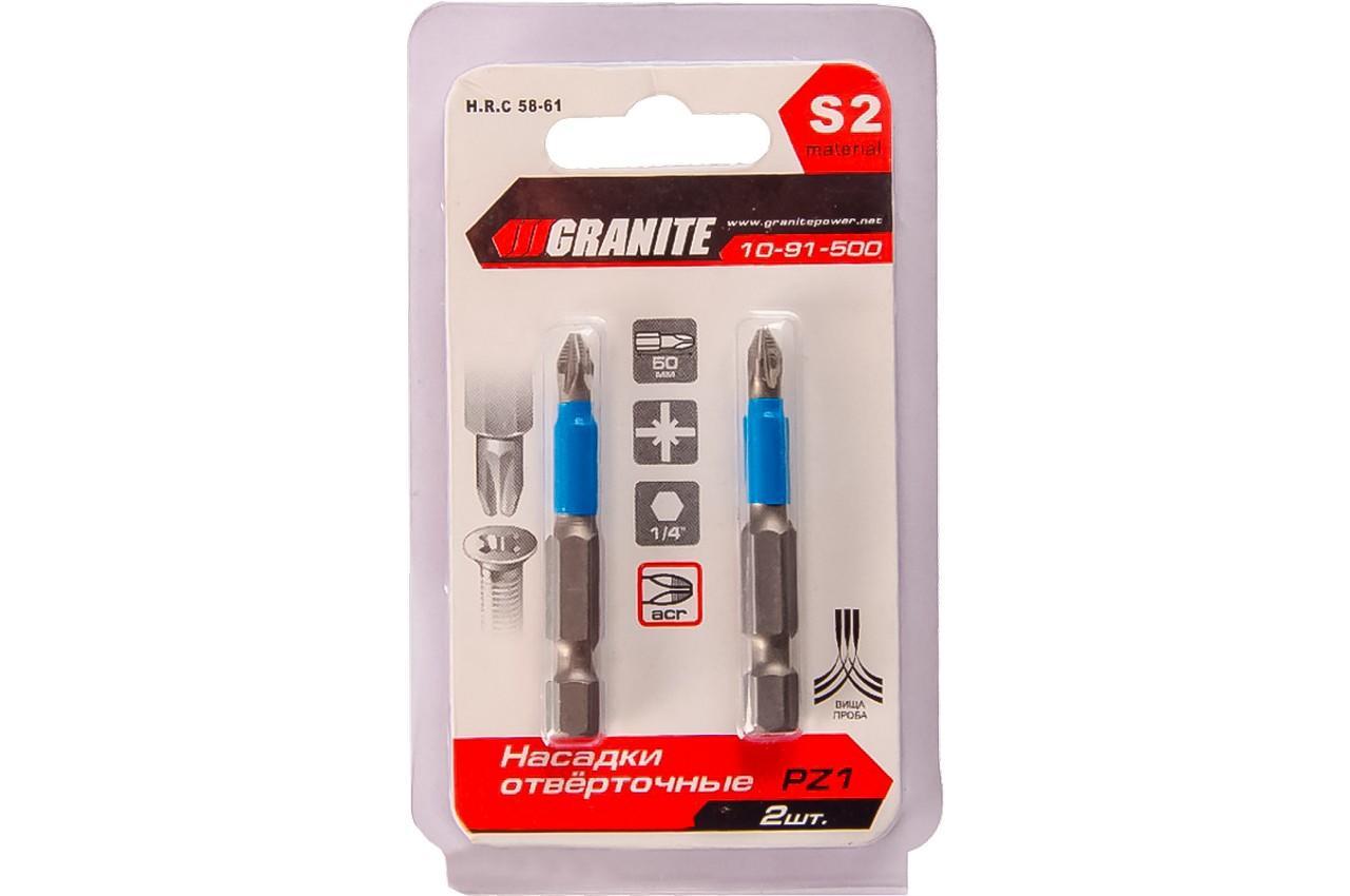 Бита Granite - PZ2 х 25 мм 2