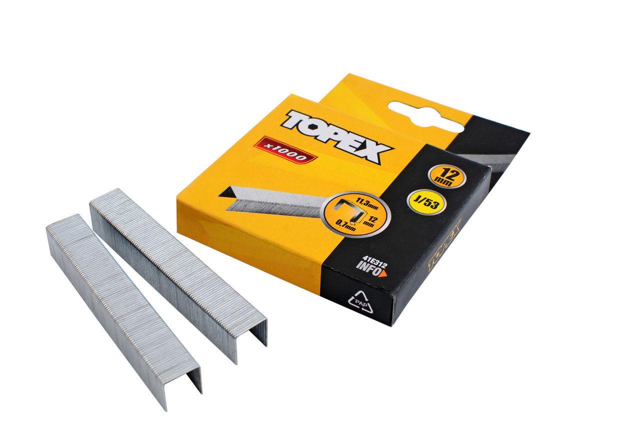 Скоба Topex - 6 х 0,7 мм (1000 шт.) 1
