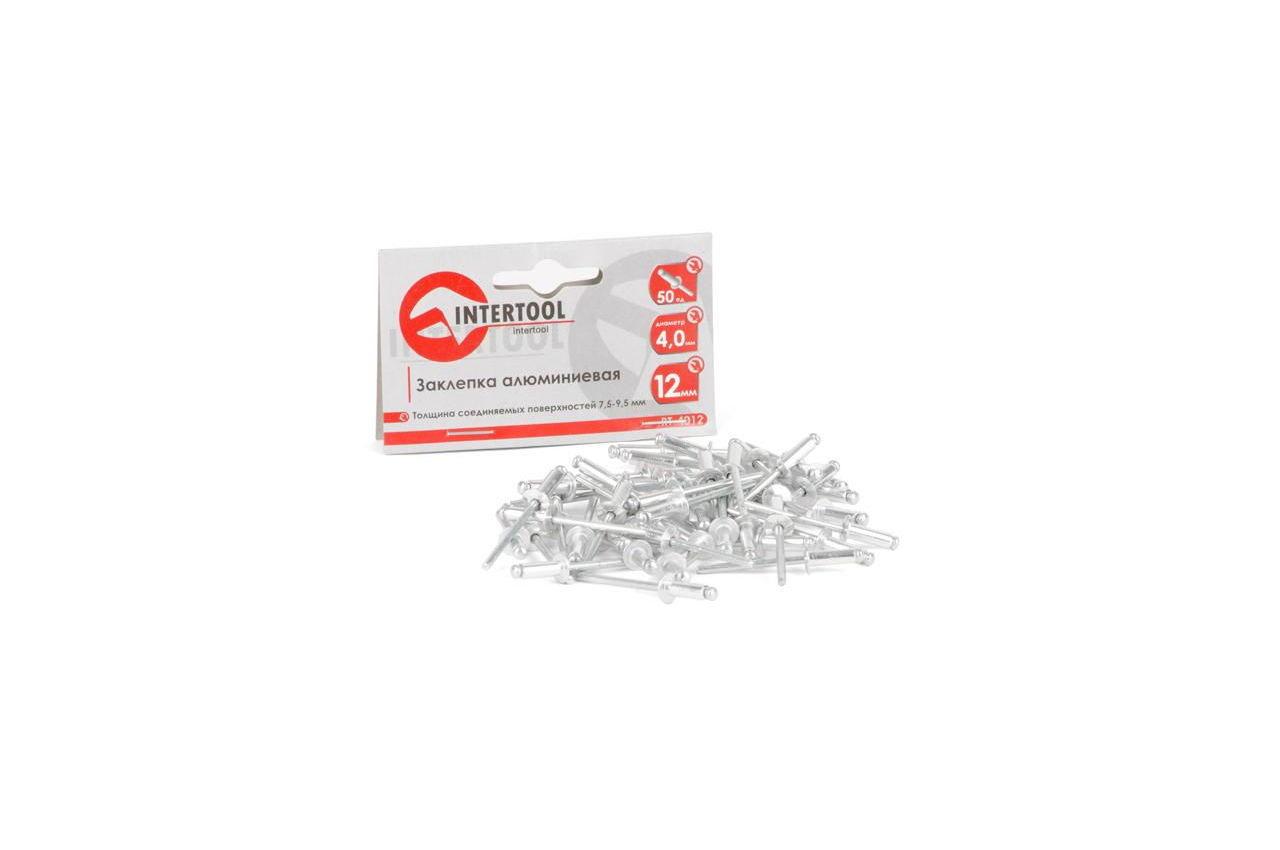 Заклепки Intertool - 4,0 х 12,0 мм (50 шт.) 3