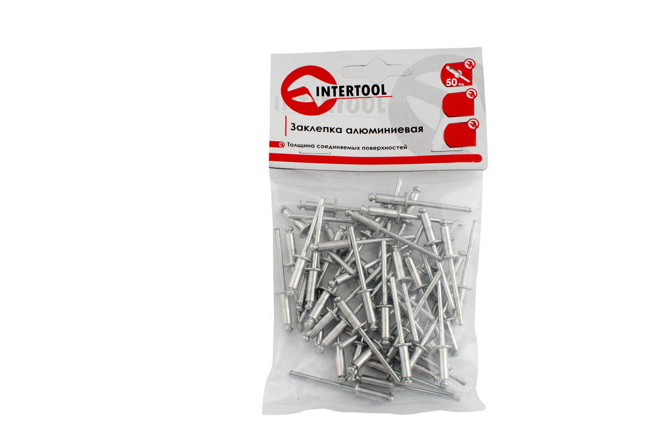 Заклепки Intertool - 4 х 18 мм (50 шт.) 1