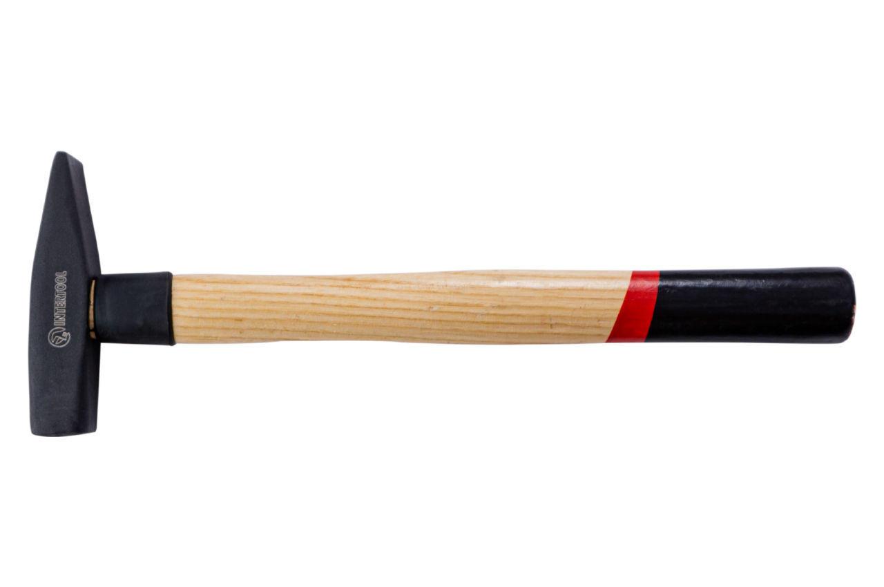 Молоток Intertool - 300 г, ручка ясень 1