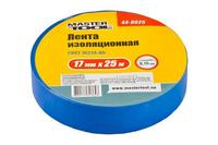 Лента изоляционная Mastertool - 25 м, синяя