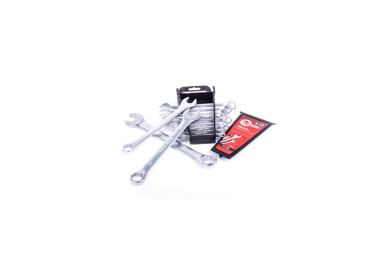 Набор рожково-накидных ключей Intertool - 12 шт. (6-22 мм) 3