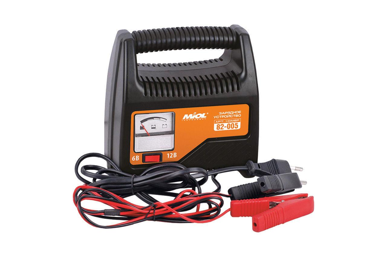 Зарядное устройство Miol - 6 - 12 В, 6 А со стрелочной индикацией 1
