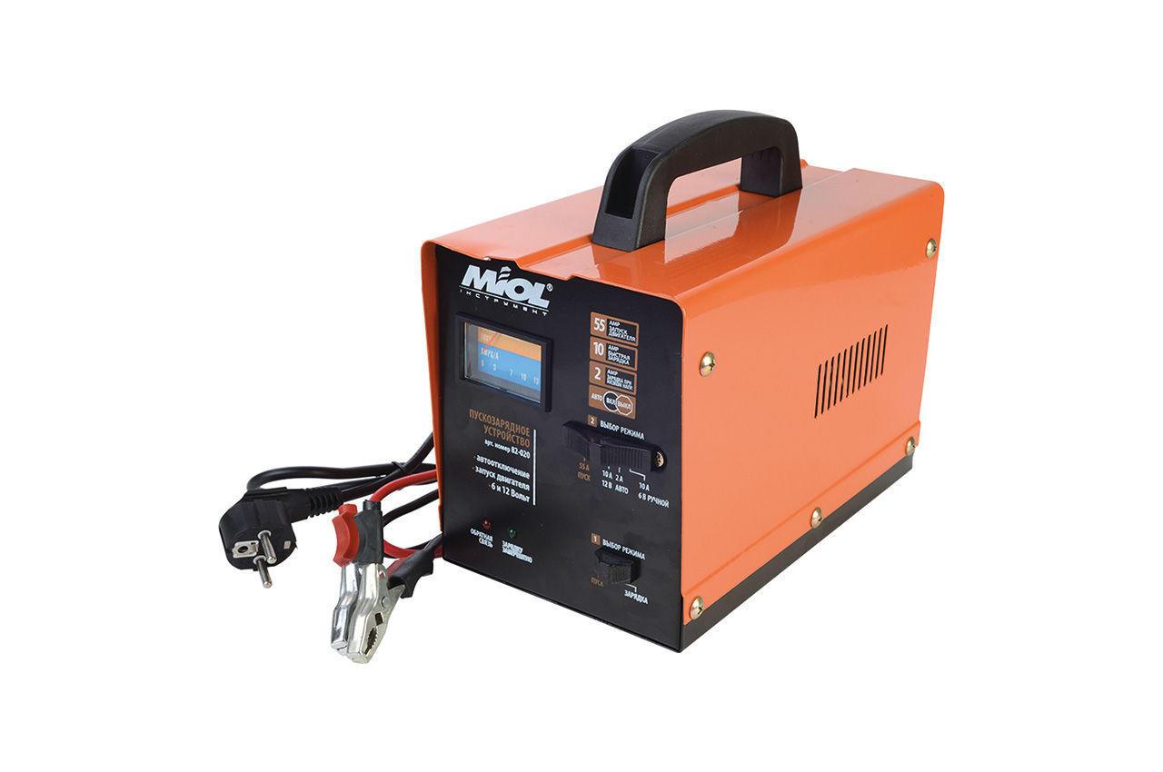 Пускозарядное устройство Miol - 6 - 12 В, 100 А-ч, 140 Вт 1