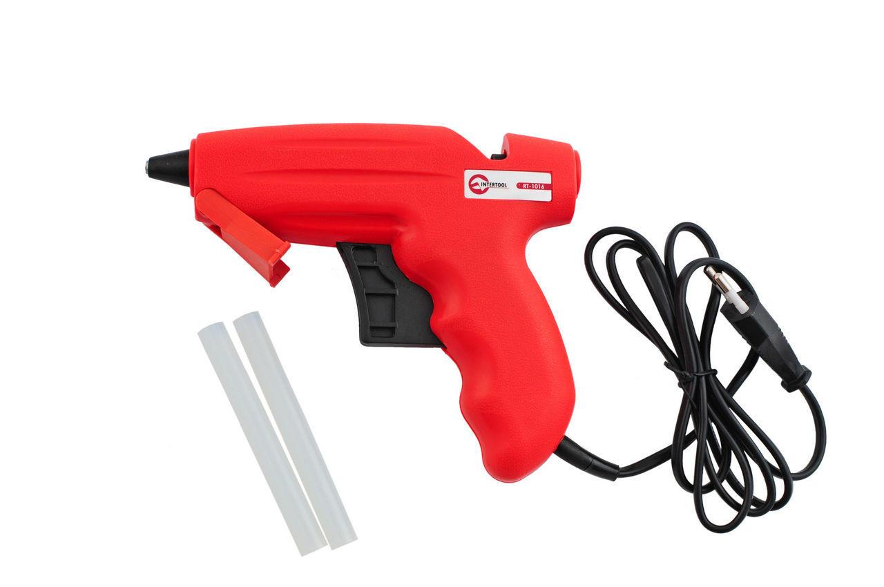Пистолет клеевой Intertool - 200 Вт, 12 г/мин 1