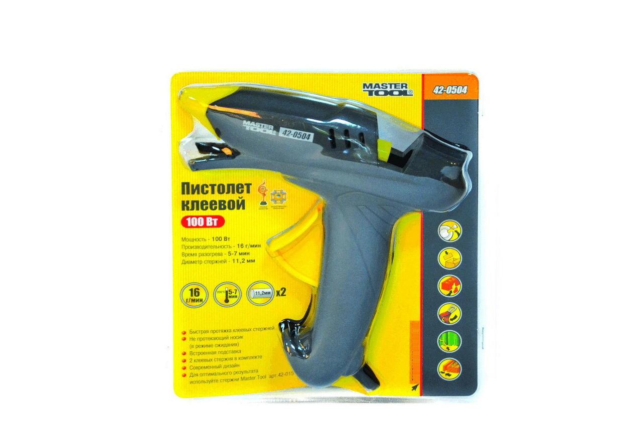 Пистолет клеевой Mastertool - 100 Вт 11,2 мм 2