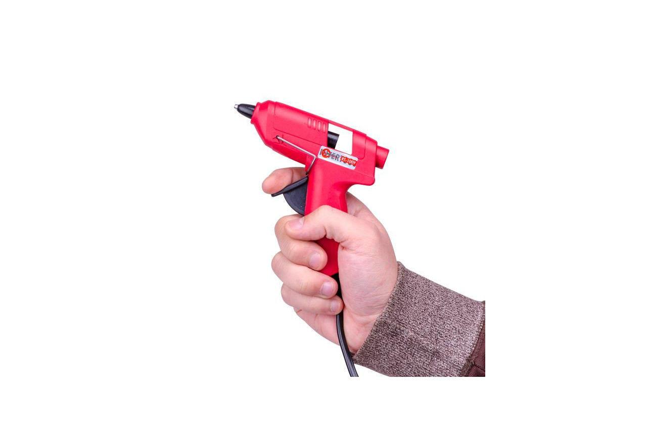Пистолет клеевой Intertool - 7 мм x 10 Вт 6