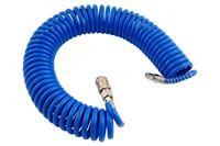 Шланг спиральный Intertool - 5 м 5,5 х 8 мм полиуретановый
