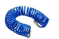 Шланг спиральный Intertool - 10 м 6,5 х 10 мм полиуретановый