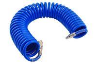 Шланг спиральный Intertool - 15 м 8 х 12 мм полиуретановый