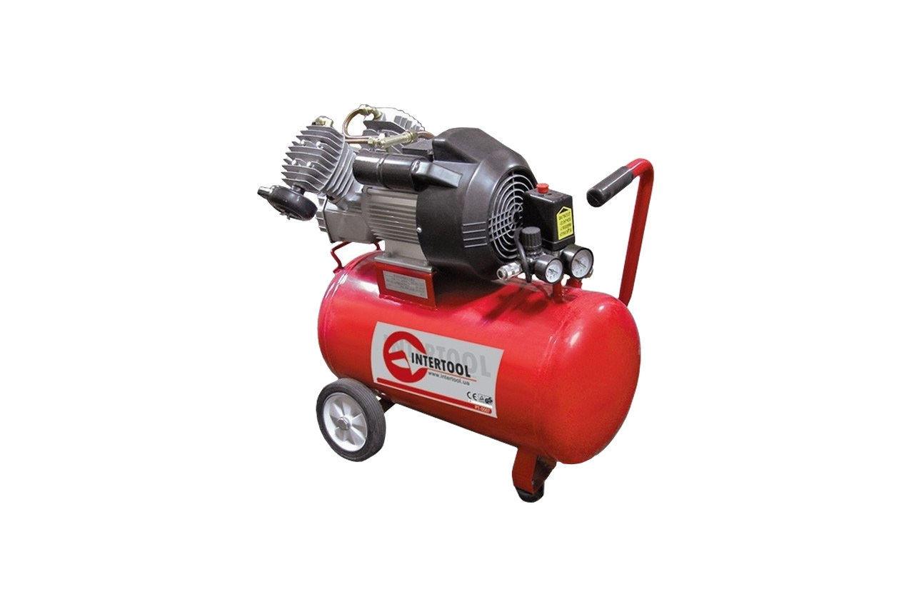 Компрессор Intertool - 50 л, 3 кВт 1