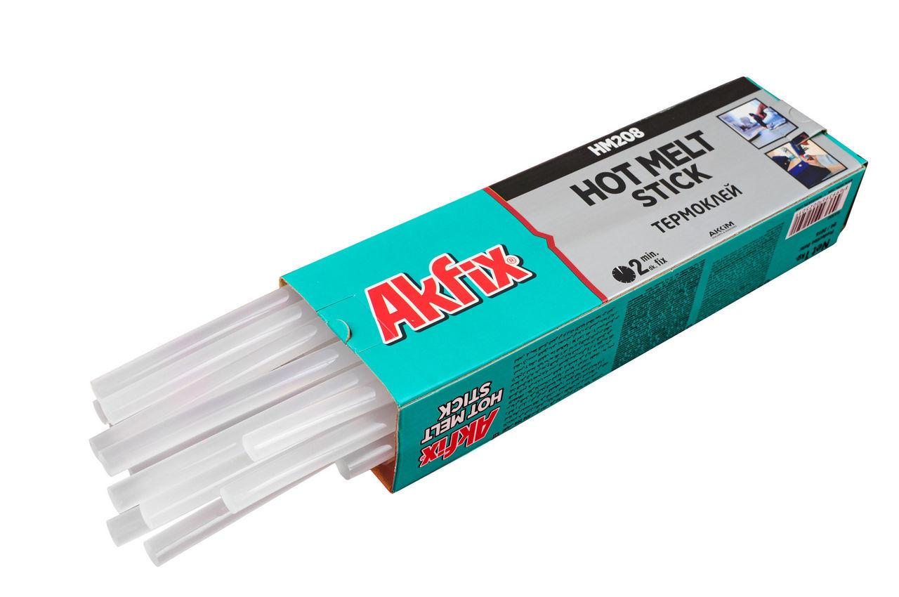 Клеевые стержни Akfix - 11,2 х 300 мм, прозрачные (1 кг) 1