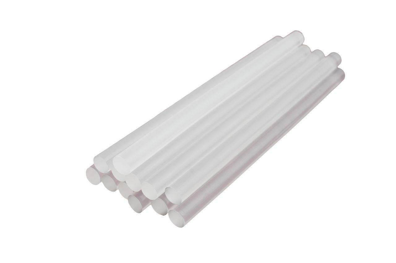 Клеевые стержни Intertool - 11,2 х 200 мм, прозрачные 1